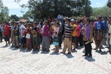 Warga Eks Pengungsi Timtim Duduki Kantor Bupati TTU