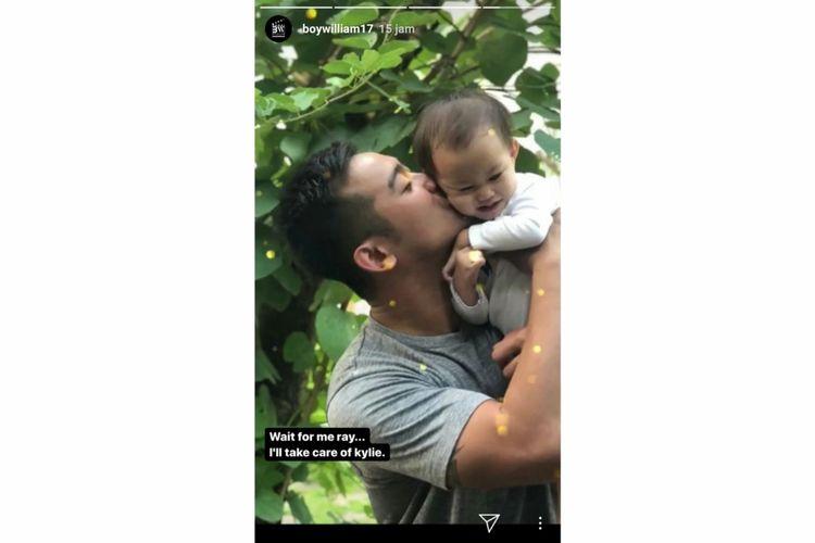 Tangkapan layar akun Instagram Boy William.