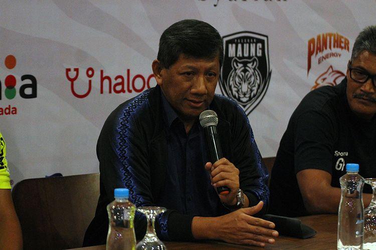 Komisaris PT Persib Bandung Bermartabat (PBB), Kuswara S Taryono.