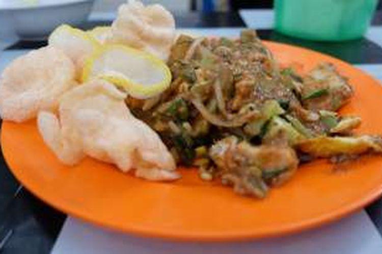 Gado-Gado di jalan Karet Pasar Baru, tepatnya di sebelah Mal Citiwalk, Sudirman, Jakarta.