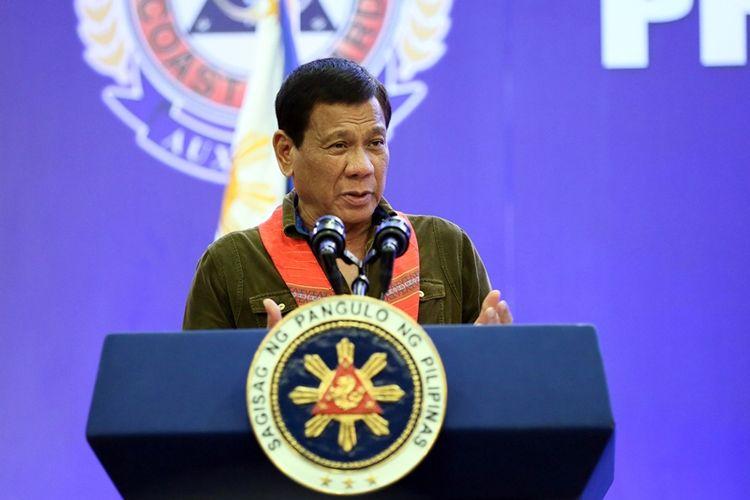 Presiden Filipina, Rodrigo Duterte.
