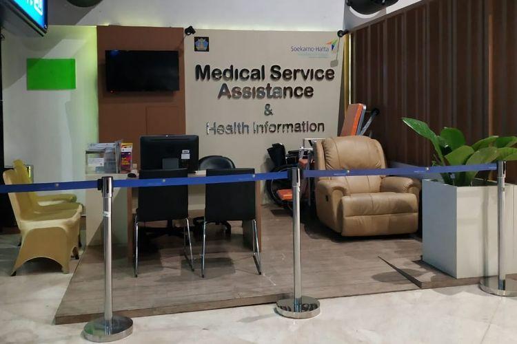 Medical Service Assistance adalah layanan bantuan medis yang ada di Terminal 2 Bandara Soekarno-Hatta.