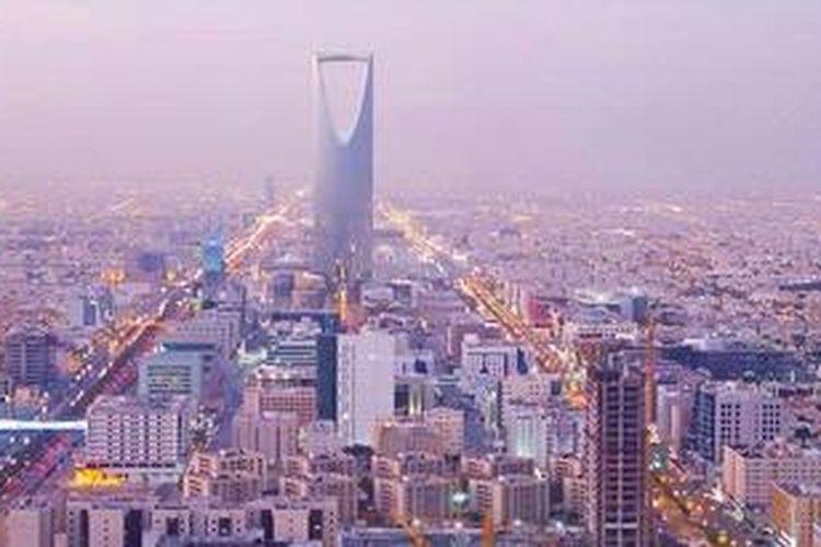 Pemandangan kota Riyadh, ibu kota Arab Saudi.
