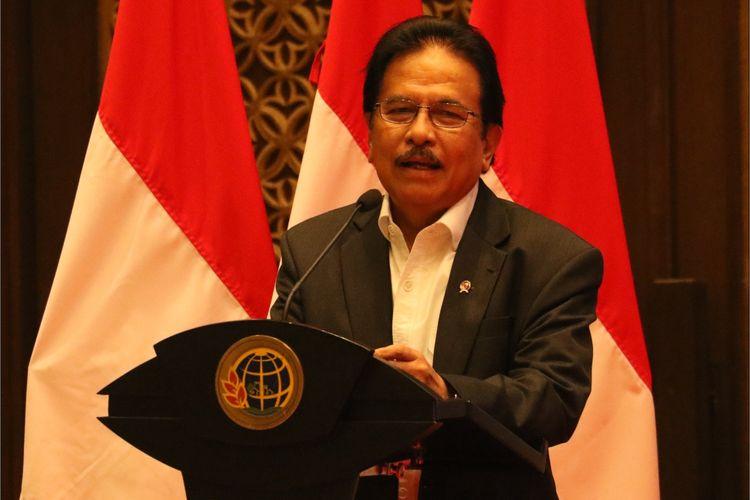 Menteri Agraria dan Tata Ruang/Kepala Badan Pertanahan Nasional (ATR/BPN) Sofyan A Djalil