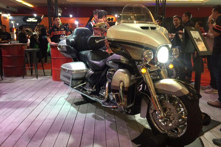 Harley-Davidson CVO Limited yang dipamerkan di IIMS 2018