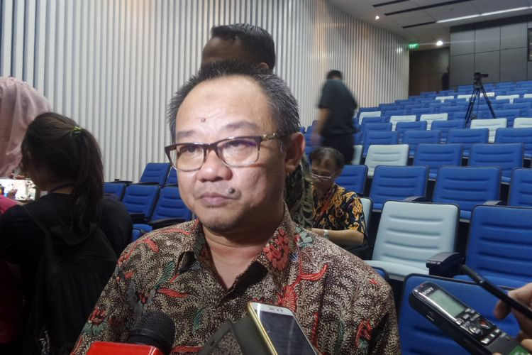 Sekretaris Jenderal PP Muhammadiyah, Abdul Mu'ti di kampus Universitas Multimedia Nusantara (UMN)  Tangerang, Kamis (19/10/2017).