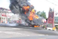Truk Tangki BBM Terbakar di SPBU Kota Banjar, Pertamina Siagakan SPBU Alternatif