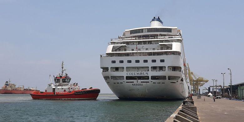 Ribuan Turis Asing Kapal Pesiar Columbus Boleh Turun di Semarang, Ini  Alasannya