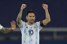 Babak I Argentina Vs Chile, Sepakan Bebas Messi Bawa La Albiceleste Unggul