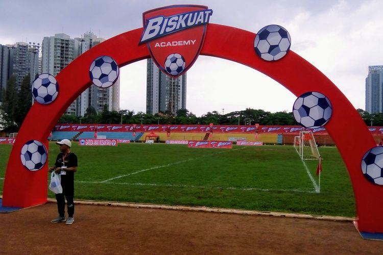 Kegiatan grand final Biskuat Academy 2019 di di Stadion Sepak Bola GOR Sumantri Brodjonegoro, Jakarta, 11-12 Januari 2020.  Dua kategori pesepak bola usia muda pada perhelatan itu adalah U-10 dan U-12.