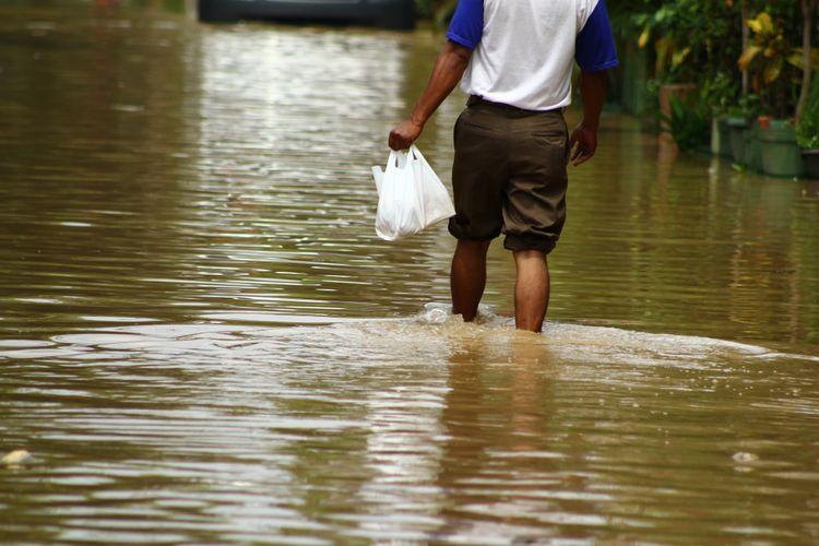 Minggu Sore, 10 Lokasi di Jakut dan Jaktim Tergenang Air