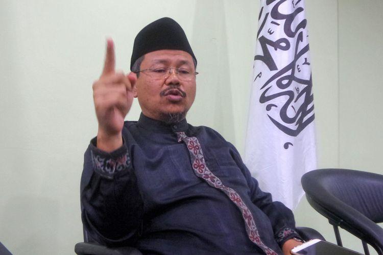 Juru Bicara Hizbut Tahrir Indonesia (HTI) Ismail Yusanto, Senin (8/5/2017).