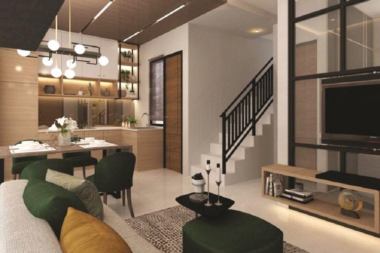 Interior fleksibel Magenta Residence