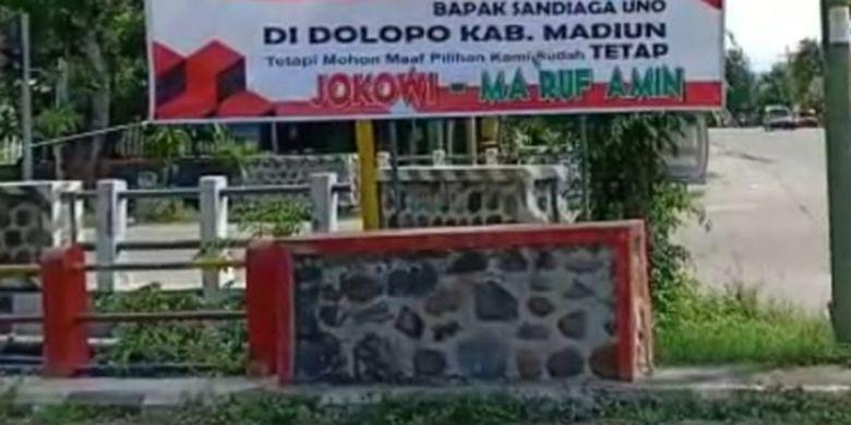 5 Fakta Spanduk Selamat Datang Sandiaga Dari Pendukung Jokowi Tak Langgar Aturan Hingga Ditanggapi Santai Halaman All Kompas Com
