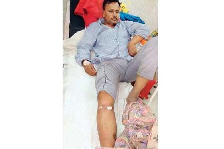 Vijendra Tyagi, pasien yang harus dioperasi kakinya padahal dia menderita luka di kepala.