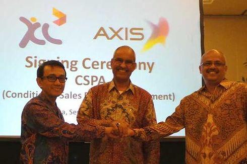 XL Resmi Akuisisi Axis