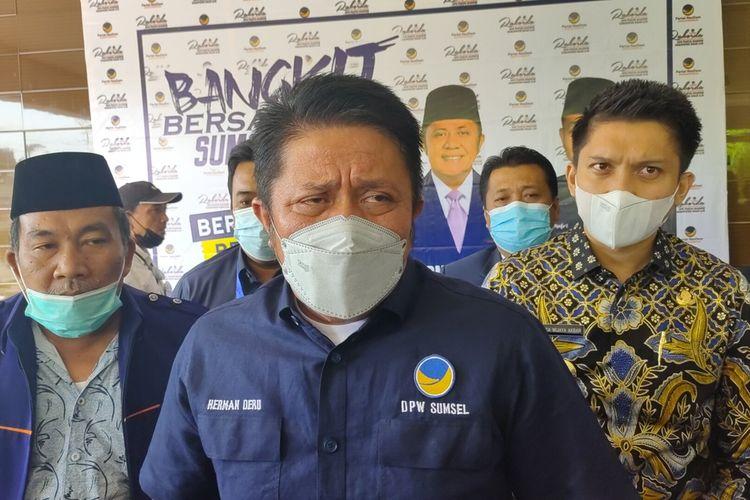 H Herman Deru Gubernur Sumatera Selatan
