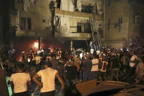 Ledakan Tangki Bahan Bakar di Beirut, 4 Orang Tewas, 30 Orang Luka-luka