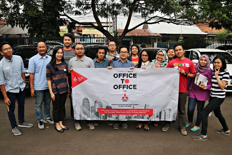 Office to Office Mitsubishi test drive