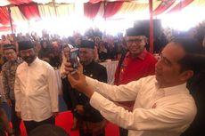 Hadiri Kenduri Kebangsaan di Aceh Bersama Surya Paloh, Jokowi Layani Selfie Bareng Warga