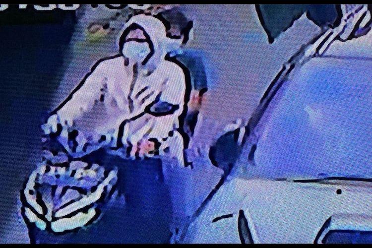 Tangkapan layar CCTV kediaman Andhika Pratama. Sumber; instagram @andhiiikapratama