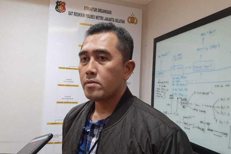 Kasatreskrim Polres Metro Jakarta Selatan, Ajun Komisaris Besar M. Irwan Susanto di Mapolres Metro Jakarta Selatan, Kamis (30/1/2020)