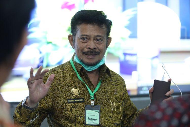 Menteri Pertanian Syahrul Yasin Limpo dalam suatu kesempatan