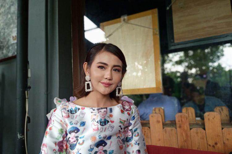 Juliana Mochtar atau Ully Moch saat ditemui di kawasan Kemayoran, Jakarta Pusat, Kamis (27/2/2020).