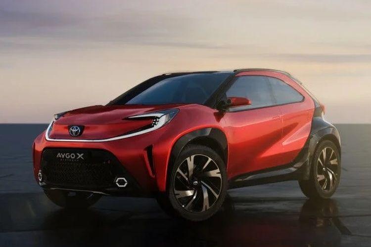 Ilustrasi Toyota Aygo Cross