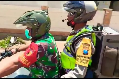 Aiptu Edi Mujais, Polisi yang Gendong Pengeras Suara dan Beri Penyuluhan Bahaya Corona Gugur karena Kecelakaan