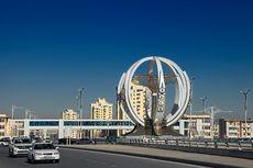 10 Kota Termahal untuk Ditinggali, Ibu Kota Turkmenistan yang Paling Mahal