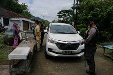 Polisi Sekat Pintu Masuk Gunungkidul, Kendaraan Luar DIY Diminta Putar Balik