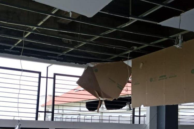 Gempa magnitudo 6,8 di Ambon, Maluku, Kamis (26/9/2019).