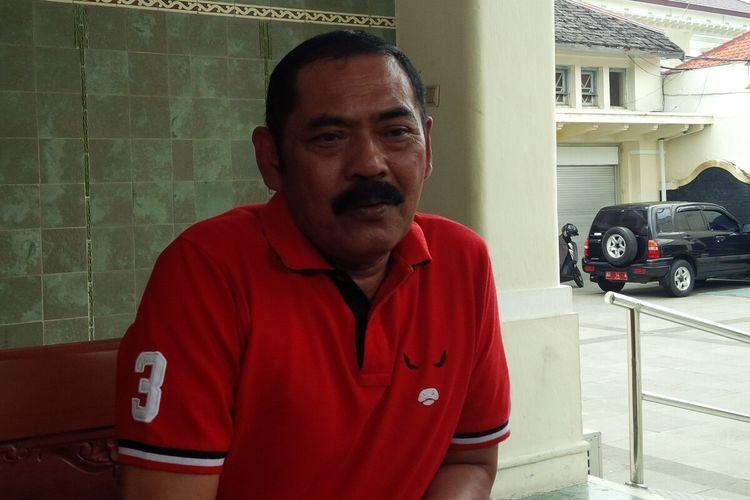 Wali Kota Surakarta, FX Hadi Rudyatmo di Solo, Jawa Tengah, Sabtu (14/3/2020).