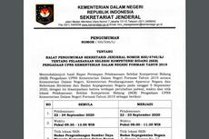 Kemendagri Ralat Jadwal Pelaksanaan SKB CPNS, Simak Penjelasannya...