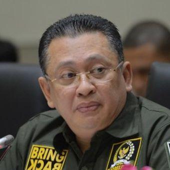 Ketua DPR RI, Bambang Soesatyo, Sabtu (4/5/2019)