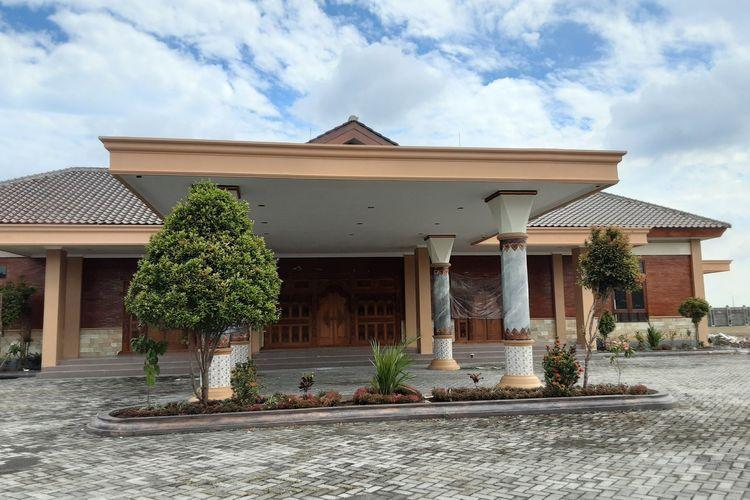 Rumah Dinas Bupati Kendal di Jetis Kendal. KOMPAS.COM/SLAMET PRIYATIN