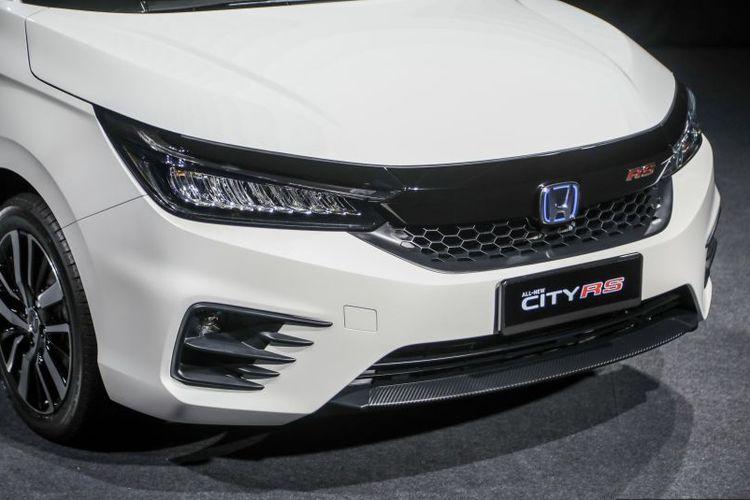 Ilustrasi deain fascia Honda City terbaru yang meluncur di Malaysia.