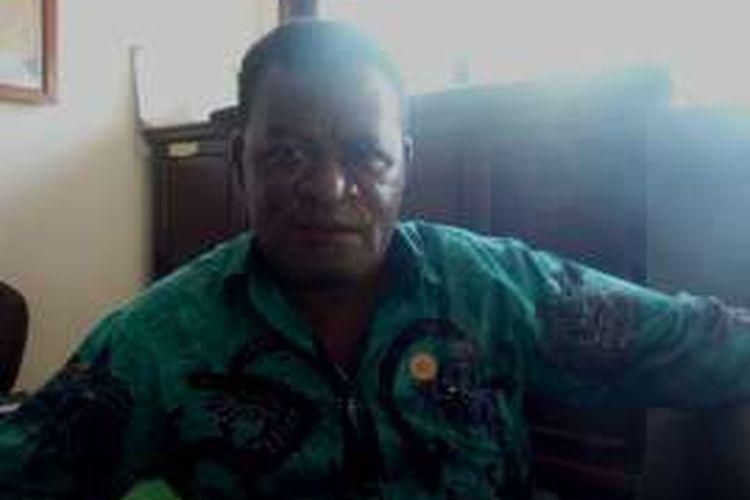 Kadis Kehutanan Provinsi Papua Yan Jap Ormuseray