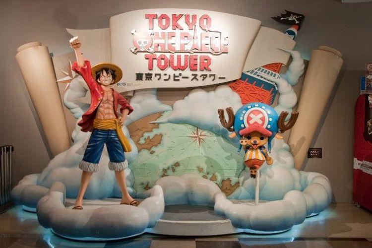 One Piece Towe di Tokyo, Jepang.