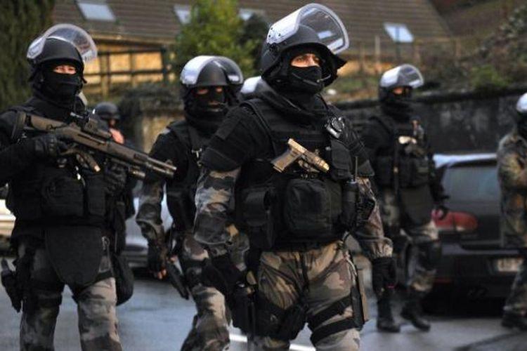 Groupe d?Intervention de la Gendarmerie Nationale (GIGN) dianggap sebagai salah satu unit pasukan khusus anti-teror paling efektif di Eropa.