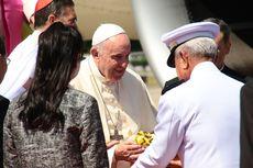 Mendarat di Thailand, Paus Fransiskus Mulai Rangkaian Tur Asia