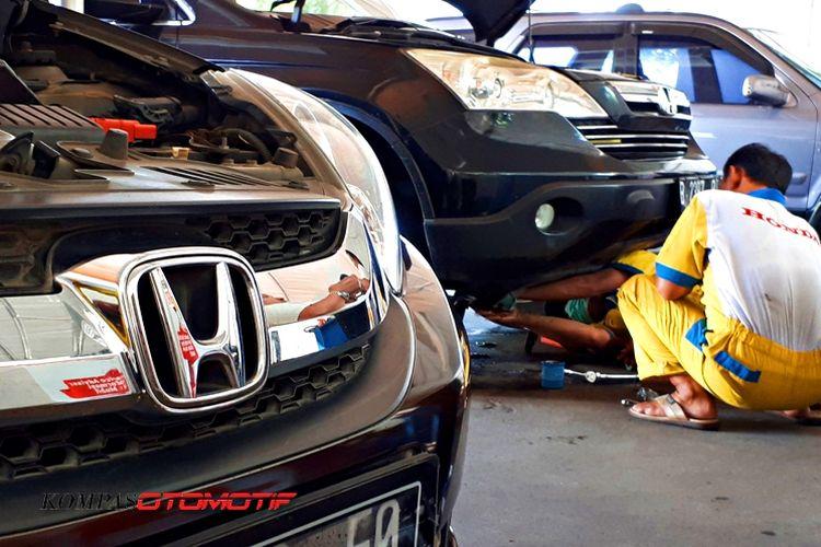 Bengkel Siaga Honda KM57 layanai pergantian inflator airbag