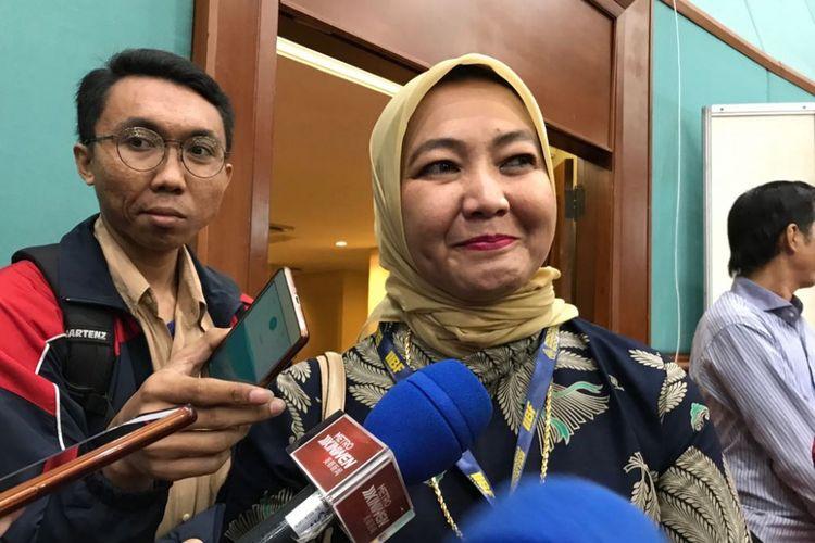 Ketua Umum Ikatan Penerbit Indonesia (Ikapi) Rosidayati Rozalina