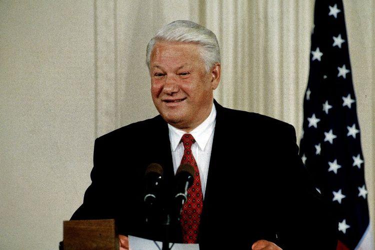 Presiden Boris Yeltsin pada tahun 1994.