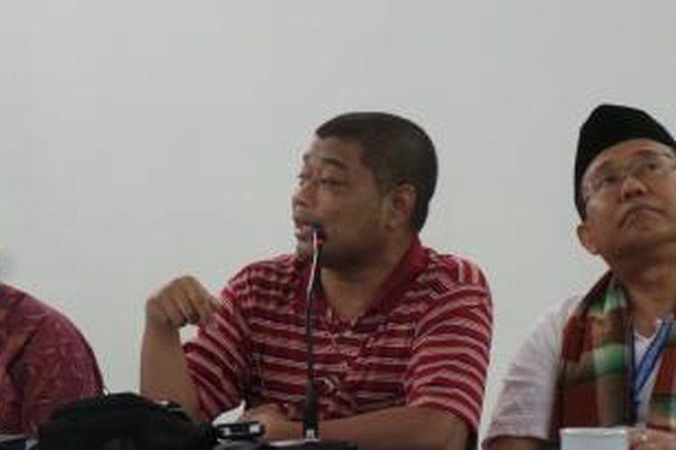 Tokoh agama yang juga anggota Gerakan Dekrit Rakyat Indonesia, Romo Benny Susetyo.
