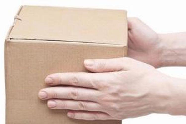 Ilustrasi. Paket kiriman.