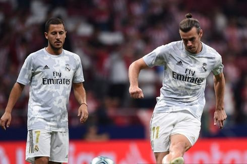 Real Madrid Vs Real Sociedad, El Real Masih Tanpa Bale dan Hazard