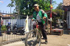 Kisah Eko Antar Pesanan Go-Food dengan Mengayuh Sepeda Keliling Bekasi