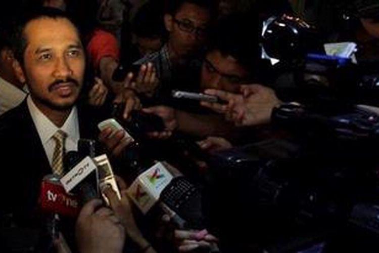 Ketua Komisi Pemberantasan Korupsi (KPK) Abraham Samad.